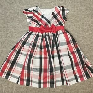 Bonnie Jean girls Christmas dress 3T